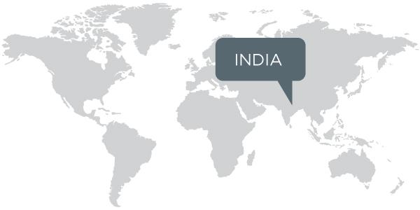 Tea Forte India Map