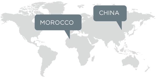 Morocco China