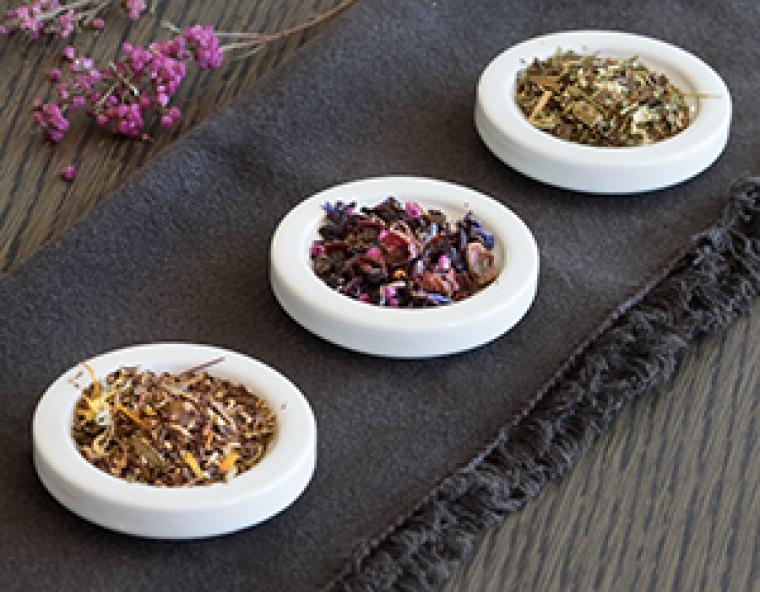 Herbal Teas at Tea Forté